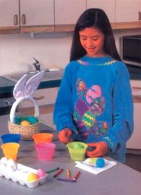 The Easter Egg Sweatshirt is a perfect complement to holiday festivities.