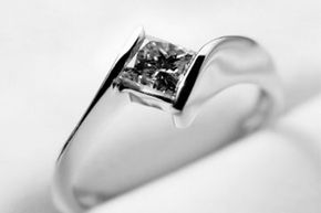 Image Gallery: Diamond Engagement Rings If you want something totally unique, design it yourself! See more pictures of diamond engagement rings.