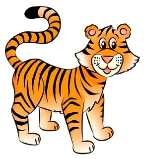 Learn how to draw this tiger.