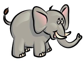 African Animal Image Gallery Learn how to draw an elephant, complete with trunk and tusks, by following these step-by-step instructions and helpful diagrams. See more pictures of African animals.
