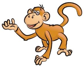 Monkey Image Gallery Learn how to draw a monkey using our easy, step-by-step instructions. Each step is illustrated to guide you through the drawing of a monkey. See more pictures of monkeys.