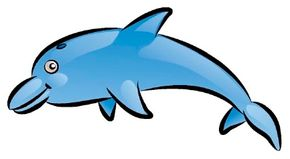 Marine Mammal Image Gallery Learn how to draw a dolphin by starting with basic shapes and adding detail. These simple steps will leave you with a dolphin drawing. See more pictures of marine mammals.