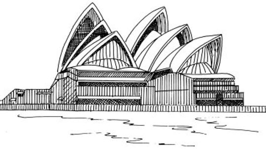 How to Draw the Sydney Opera House in 5 Steps