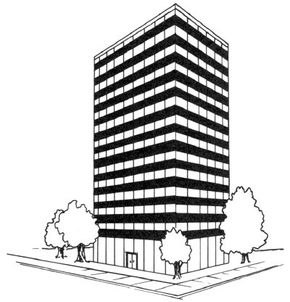 Awesome Architecture Image Gallery Learn how to draw this skyscraper in a few simple steps. See more pictures of awesome architecture.