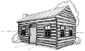 Home Design Image Gallery Learn how to draw this log cabin in a few easy steps. See more pictures of home design.