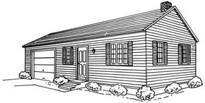 Home Design Pictures Learn how to draw this ranch house in a few simple steps. See more pictures of home design.