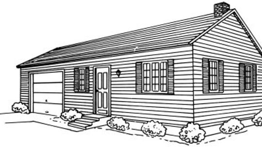 How to Draw a Ranch House in 5 Steps