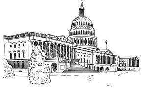 Famous Landmarks Image Gallery Learn how to draw the U.S. Capitol Building in a few simple steps. See more pictures of famous landmarks.