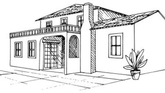 How to Draw a Spanish Villa in 5 Steps