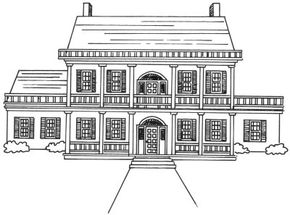 Home Design Image Gallery Learn how to draw a mansion like this in only a few simple steps. See more pictures of home design.