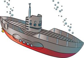 Submarines jump out of the ocean depths and onto your sketchpad with our drawing directions.
