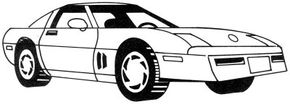 Sports Car Image Gallery The racy Corvette is a car lovers favorite. Check out this article to learn how to draw this cool car in just five simple steps. See more pictures of sports cars.