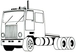 Learning how to draw a semi-truck is not a long-haul. With the easy-to-follow steps in this article, you can draw a semi-truck in just five steps. See more pictures of trucks.