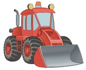 Learn to draw front loaders and other construction vehicles with our easy directions.