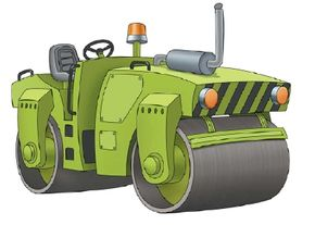 Learn how to draw this roller.