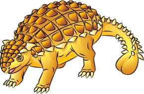 Dinosaur Image Gallery Learn how to draw the amazing Ankylosaurus dinosaur -- with its armor-spiked back and clubbed tail -- in just eight steps. See more dinosaur pictures­.