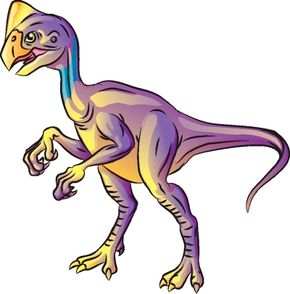 Learn how to draw this Oviraptor dinosaur.