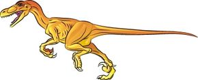 Learn how to draw this Velociraptor dinosaur.