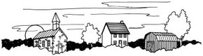 Learn how to draw this village landscape.