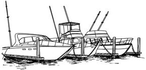 Learn how to draw this harbor scene landscape.