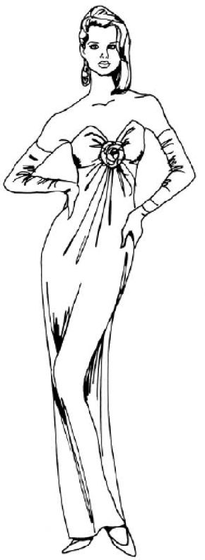 Learn how to draw a woman in an evening dress following our simple step-by-step instructions. Find your inner artist as you learn how to draw people.