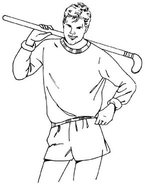 This hockey player is ready for the big game. Score points by learning how to draw this hockey player. Just follow the simple steps in this article.