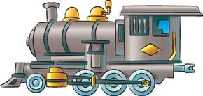 Draw steam engines to create your own train yard full of hard-working engines.