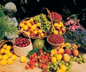 Fruits come in all shapes, sizes and tastes, and best of all are naturally prepackaged. See more pictures of fruit.