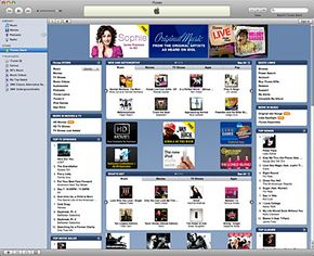 The newest versions of iTunes allow users to transfer purchased tracks to authorized computers.