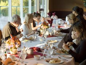 Be careful with your guest list -- you don't want any drama around the table.