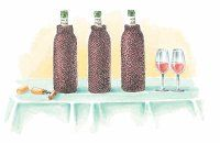 ©2006 Publications International Ltd.                              In a blind tasting, the                                            tasters don't know which wine                                            is in which glass.