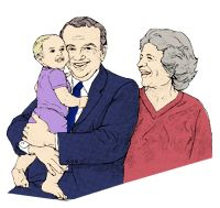 Grandparents have a special relationship with your newborn.