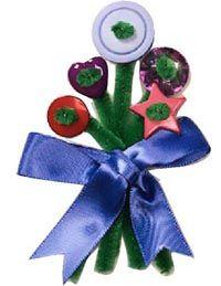 Beautiful                              button bouquets