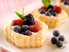 A puff pastry can puff up to hold just about anything.
