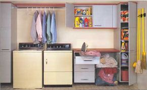 An ideal laundry room has everything. Most likely, you'll have to make some compromises.