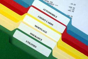 When organizing your bills, it's important to find a system that works for you.