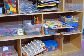 Keeping a child's room clean is easier with a good organizational system in place. See more pictures of toys.