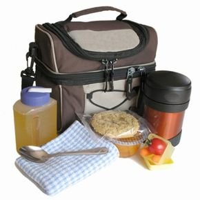 The right portion size is key to packing a healthy lunch. See more lunch box pictures.