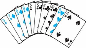 This hand lacks boodle cards, high cards, and aces. Consider swapping it for the widow.