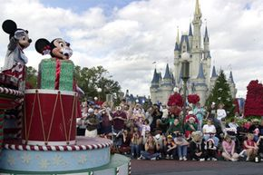 Walt Disney World is a popular family reunion location.