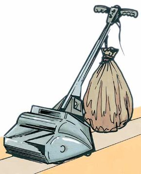 To sand a hardwood floor, you can rent a floor sander.