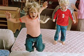 There are several ways to compare mattresses, but this is unquestionably the most fun.