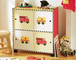 Stencil a Rescue Vehicle Cabinet.
