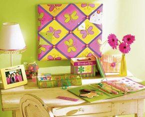 Stencil the Butterfly Bulletin Board.
