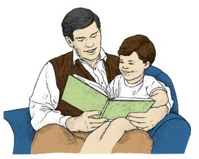By reading regularly to your child, you will aid the development of his reading skills and cultivate his love of books.
