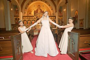Yes, the role of a bridesmaid principally consists of standing up for the bride on her big day, but some aspects of the job (specifically, your bachelorette party) may be a little too adult for younger ladies.
