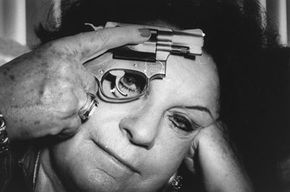 Ex-mob girl Arlyne Brickman was an informant for the FBI on several members of the Mafia. She refused to participate in the Witness Protection Program.
