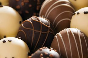 The dopamine-affecting caffeine in chocolate is part of why you feel happy when you eat it.