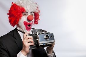 The classic clown makeup has an extensive history.