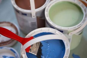 No matter which color you choose, you're probably bringing dangerous chemicals into your home in that paint can.